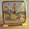 The Westener Ingraham windup clock 1950's