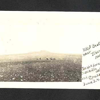 Mount of Beatitudes Palestine 1911