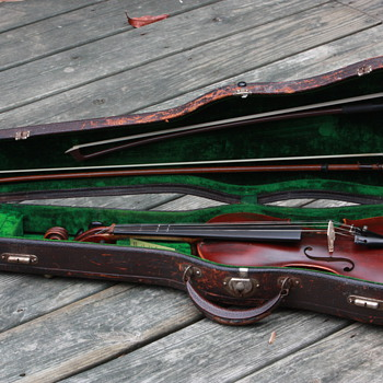 My Great Grandfather's Fiddle (Jacobus Stainer) Late 1800's, early 1900's