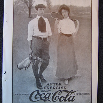 Early 1900's Coca-Cola Ad - Coca-Cola