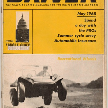 USAF Driver Magazine - May 1968 Issue - Paper