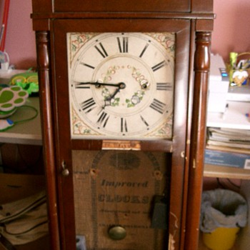 Improved Clocks, Chauncy Boardman, Bristol, Conn - Clocks