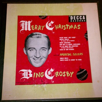 Set of three Bing Crosby 78s  