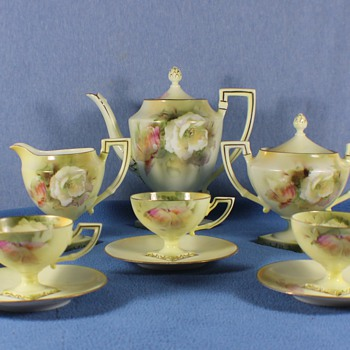 RS Prussia tea sets