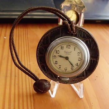 "Ingersoll ""Lapel"" leather watch"