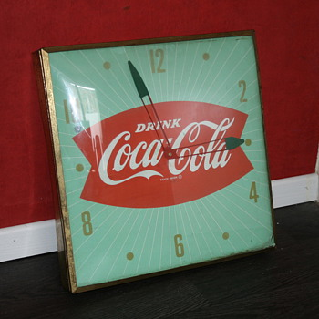 coca cola clock - Coca-Cola