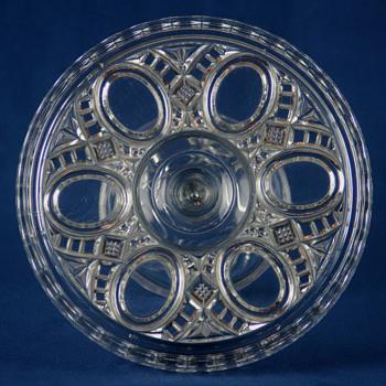 'Romola' by Robinson Glass Companmy c1894 - Glassware