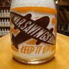 Alamito Cream Top War Slogan Milk Bottle......