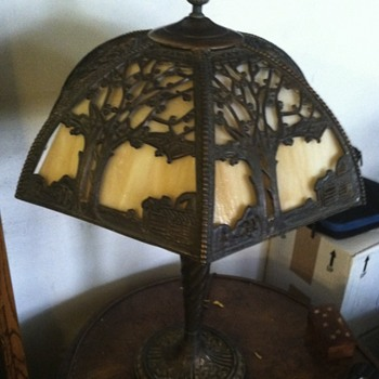 Possible Tiffany lamp