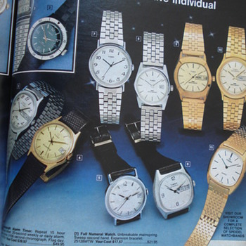 SERVICE MERCHADISE CATALOG SHOWROOMS 1980'S