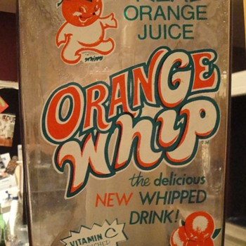 Orange Whip Machine - Advertising