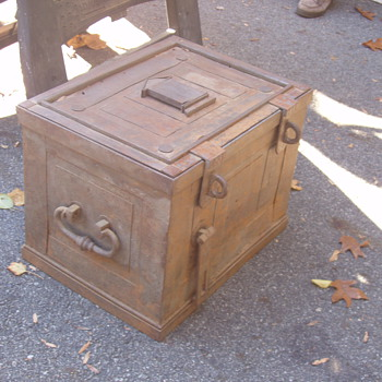 Old Strong Box - Tools and Hardware