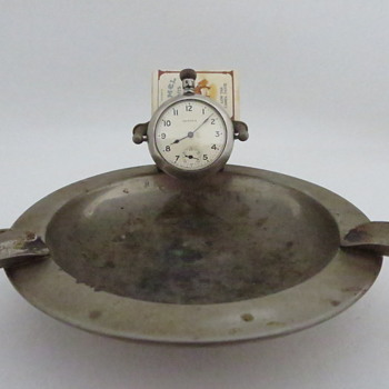 Ansonia Pocket Watch Ashtray