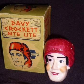 Davy Crockett Nite Lite - Lamps