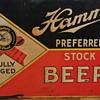 Vintage Hamm's Preferred Stock Beer Sign