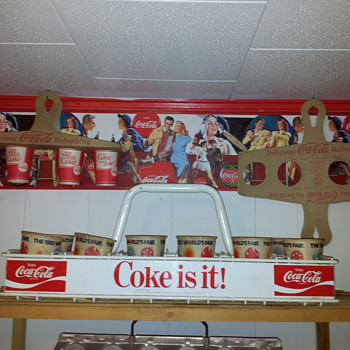 NOS Coca-Cola Cup Holders - Coca-Cola