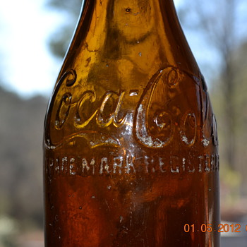 Amber Coke Bottle Chattanooga