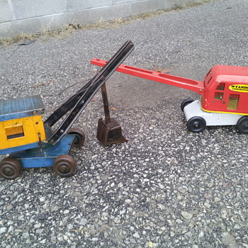 Structo and Wyandotte Shovel Projects - Model Cars