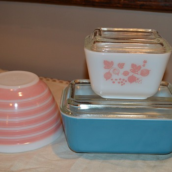 Cutest Pyrex... From the sweetest friend - Kitchen