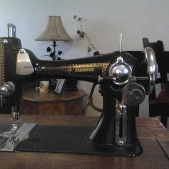 Brunswick Sewing Machine - Sewing
