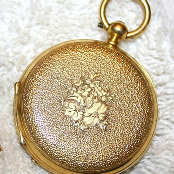 Paul Mathey Pocket Watch 1850's - Pocket Watches