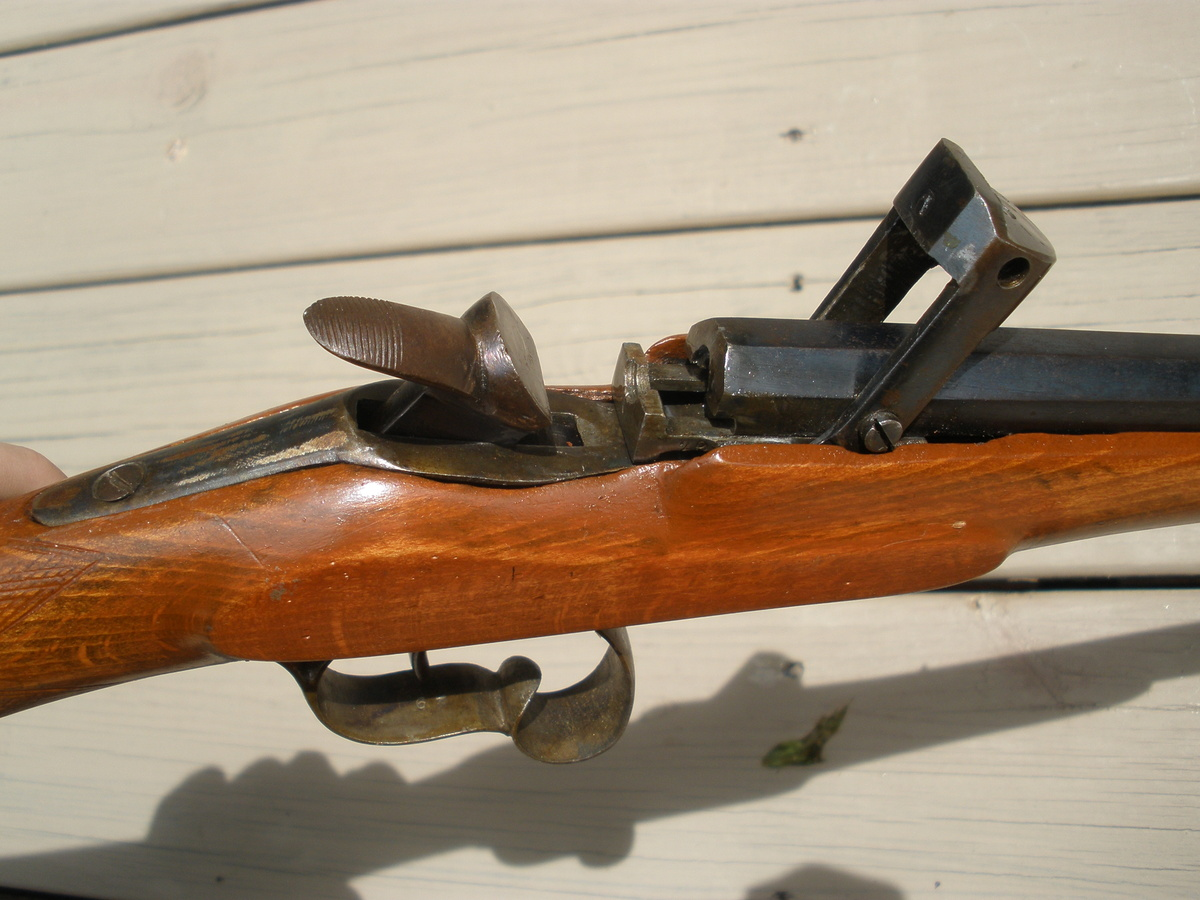 Antique Belgian breech loading target rifle. : Collectors Weekly