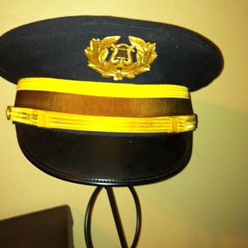 """Pershing's own"" army band hat from 1957 uniform. - Hats"