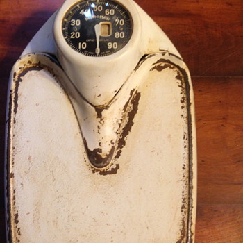 Health-o-meter antique scale to weigh yourself on