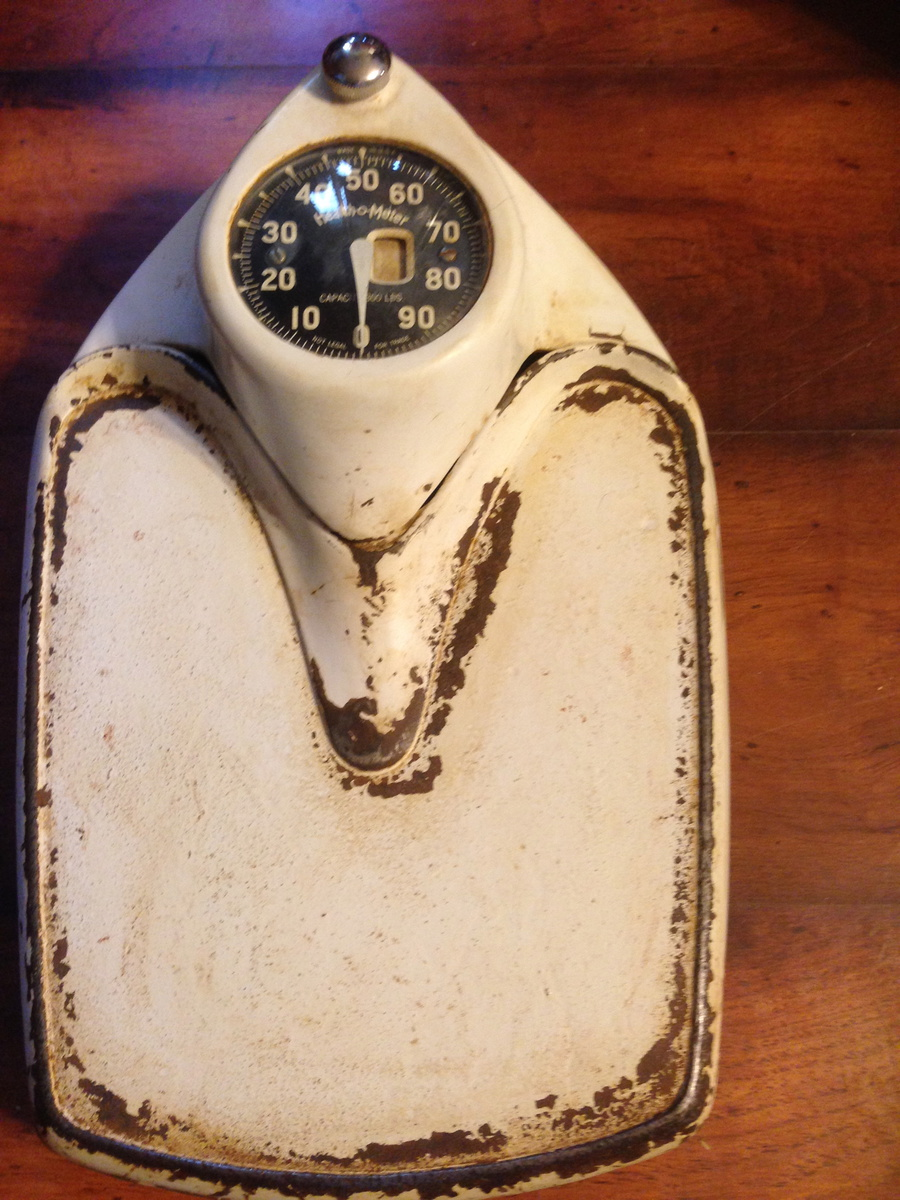 Health O Meter Antique Scale To Weigh Yourself On Collectors Weekly
