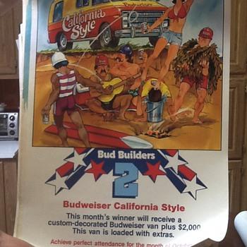 Budweiser bud builders II posters