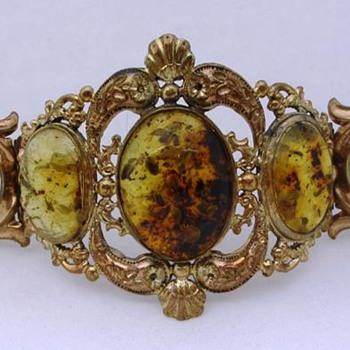 c. 1840 Repousse Bracelet - Fine Jewelry