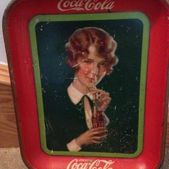 1927 Coca-Cola Tray - Coca-Cola