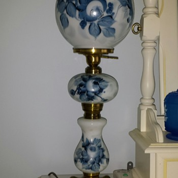 The Betty Rose Lamp from Carl Forslund Furniture Company - Victorian Era