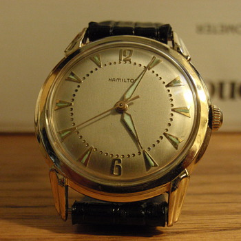 1960 Hamilton Viking 10K gold filled - Wristwatches