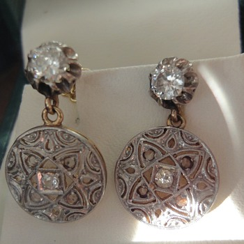 My favorite Art Deco earrings - Fine Jewelry