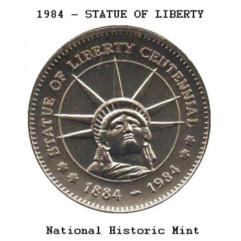 1984 - Statue of Liberty Medal