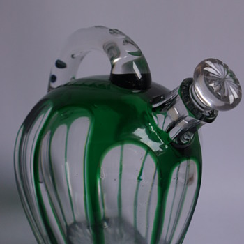 Tea Pot Decanter - Art Glass