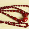 Cherry red bakelite necklaces