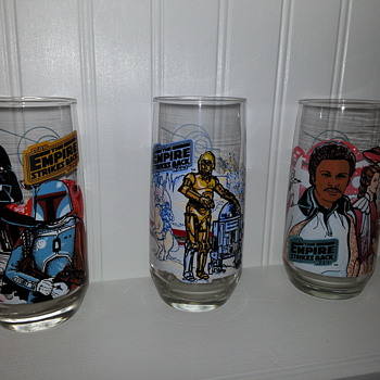 Star Wars Collectors Glassware