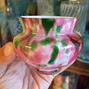 A Colourful Welz Jardiniere -Top Section only- in Pink & Green