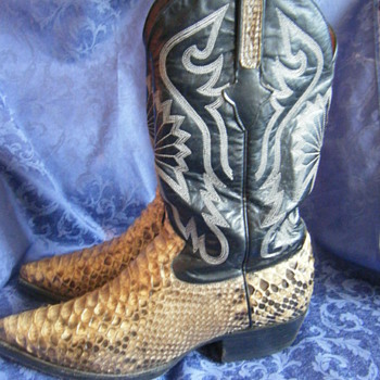 Snake Skin Cowboy boots - Shoes