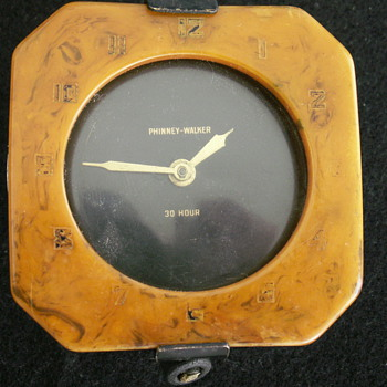 Phinney-Walker 30 Hour Car Clock - Clocks