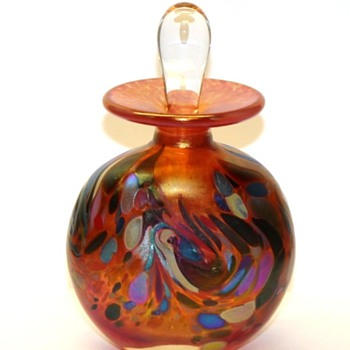 "Studio Art-""Monet"" Perfume Bottle - Signed Arte Vargas"