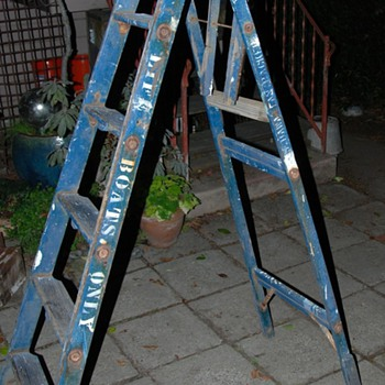 US Hawaiian Packer Lifeboat Ladder - another find from the Berkeley Dump. - Military and Wartime