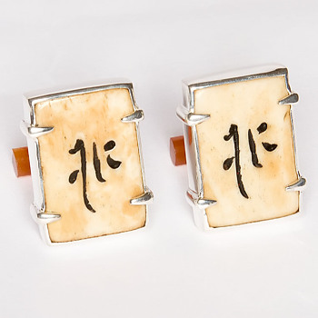 Mahjong tiles - please help me identify these ideograms!