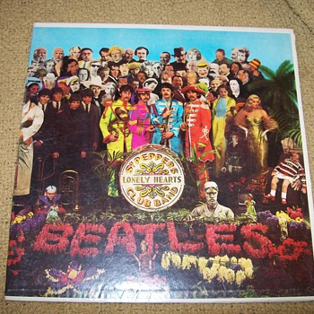 Beatles Lonely Heart Vinyl Album