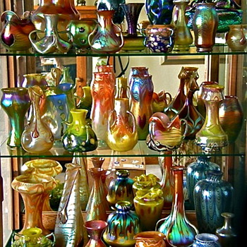 Some of the finest pieces ever made by Loetz. - Art Glass