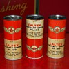 caltex oil cans