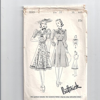 BUTTERICK #8361,8791 PATTERNS