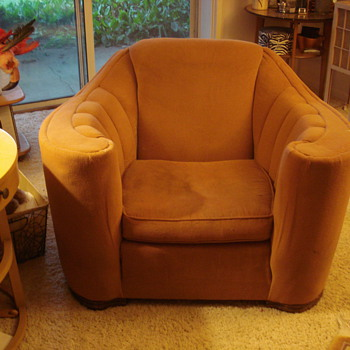 Big Ol' Heavy Groovy Chair - Furniture